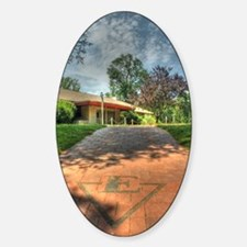 Klinger Hall Sticker (Oval)