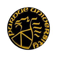 "purdue-logo 3.5"" Button"