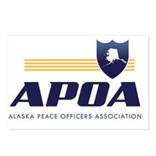 Alaska Peace Officers Ass Postcards (Package of 8)