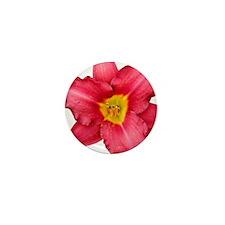 Crimson Daylilly Mini Button