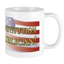 Save Our Constitution Vote Republican! Mug