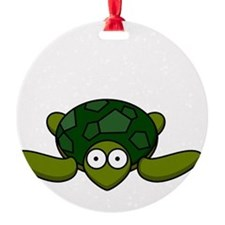 Turtle Head Poking Out Ornament