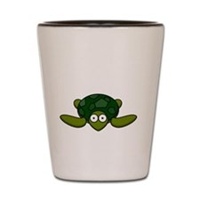 Turtle Head Poking Out Shot Glass