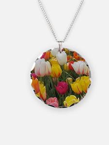 Spring Tulip Field Necklace