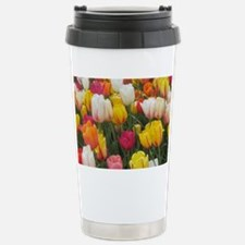 Spring Tulip Field Stainless Steel Travel Mug