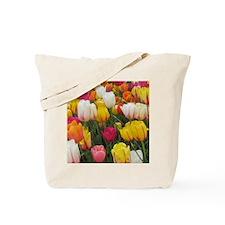 Spring Tulip Field Tote Bag