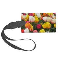 Spring Tulip Field Luggage Tag