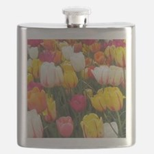 Spring Tulip Field Flask