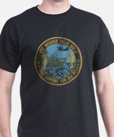 uss niagara falls patch transparent T-Shirt