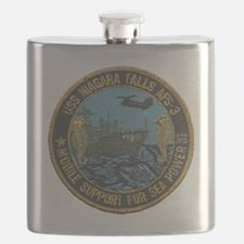 uss niagara falls patch transparent Flask