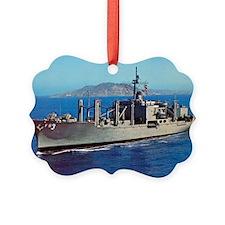 uss niagara falls large framed pr Ornament