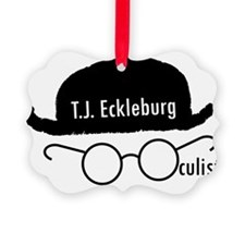 T.J. Eckleburg Picture Ornament