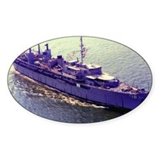 uss orion calendar Decal