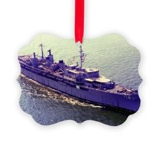 uss orion large framed print Ornament