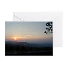 Parkway Dawn Greeting Card