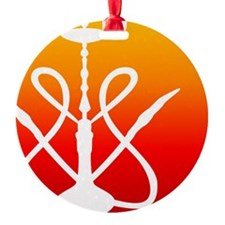 SPOT Hookah Mark RedOrange Ornament
