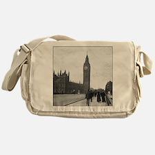 Vintage London Messenger Bag