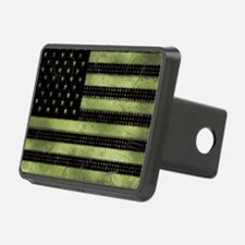 Grunge American Flag duvet Hitch Cover
