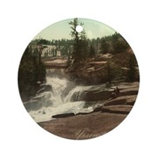 Yosemite Valley Round Ornament