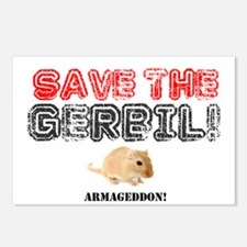 SAVE THE GERBIL - ARMAGED Postcards (Package of 8)