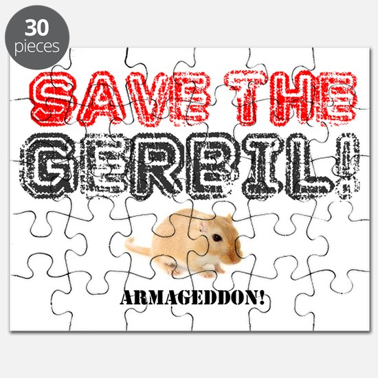 SAVE THE GERBIL - ARMAGEDDON! Puzzle