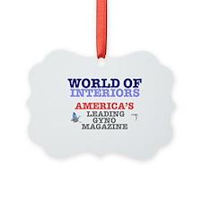 WORLD OF INTERIORS - AMERICAS LEA Ornament