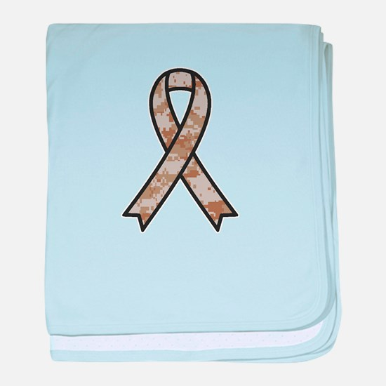 Military Support Ribbon baby blanket