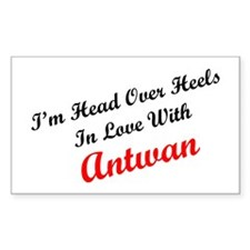 In Love with Antwan Rectangle Decal