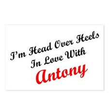 In Love with Antony Postcards (Package of 8)