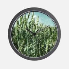 Summer Harvest Wall Clock