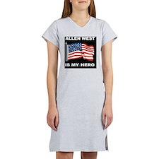 ALLEN WEST FLAGBUTTON Women's Nightshirt