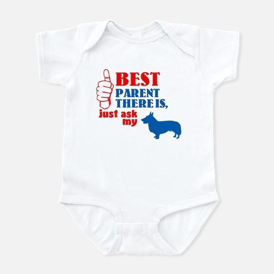 Cardigan Welsh Corgi Infant Bodysuit