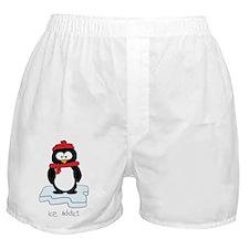 Ice addict penguin colour Boxer Shorts