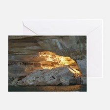 Pictured Rocks B Greeting Card