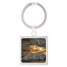Pictured Rocks B Square Keychain