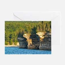 Pictured Rocks A Greeting Card