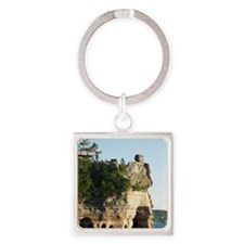 Pictured Rocks C Square Keychain