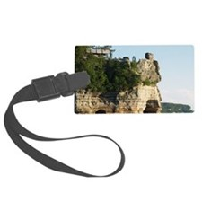 Pictured Rocks C Luggage Tag