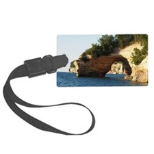 Pictured Rocks Luggage Tag