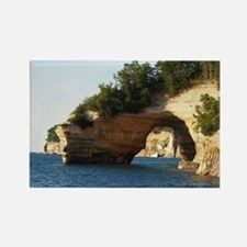 Pictured Rocks Rectangle Magnet