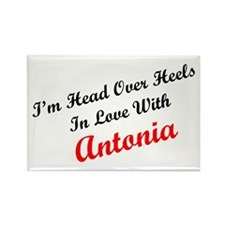 In Love with Antonia Rectangle Magnet (10 pack)
