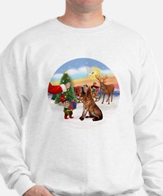 Treat for a Bloodhound Sweatshirt