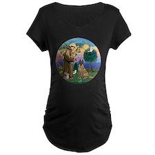 St Francis and Belgian Mali T-Shirt