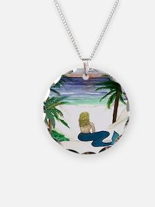 Blond Mermaid Necklace