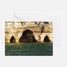 Pictured Rocks D Greeting Card