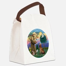 St. Francis - Bloodhound Canvas Lunch Bag