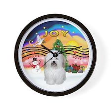 R-XMusic2 - Coton De Tulear 2b Wall Clock