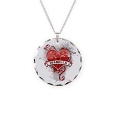 Love Isabella Necklace Circle Charm