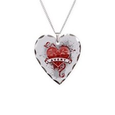 Love Avery Necklace Heart Charm