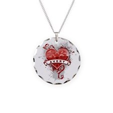 Love Avery Necklace Circle Charm